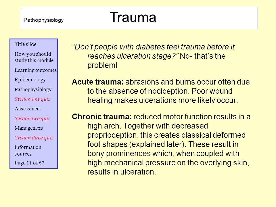 Pathophysiology Trauma