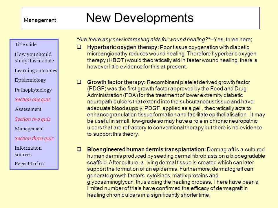 Management New Developments