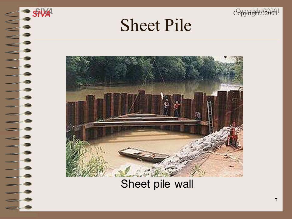 Sheet Pile Sheet pile wall
