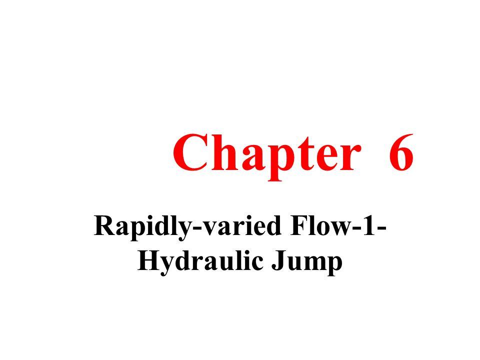 Rapidly-varied Flow-1-Hydraulic Jump