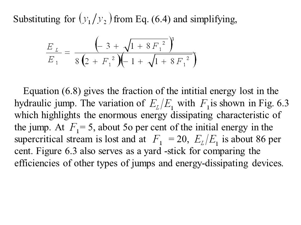 Substituting for from Eq. (6.4) and simplifying,