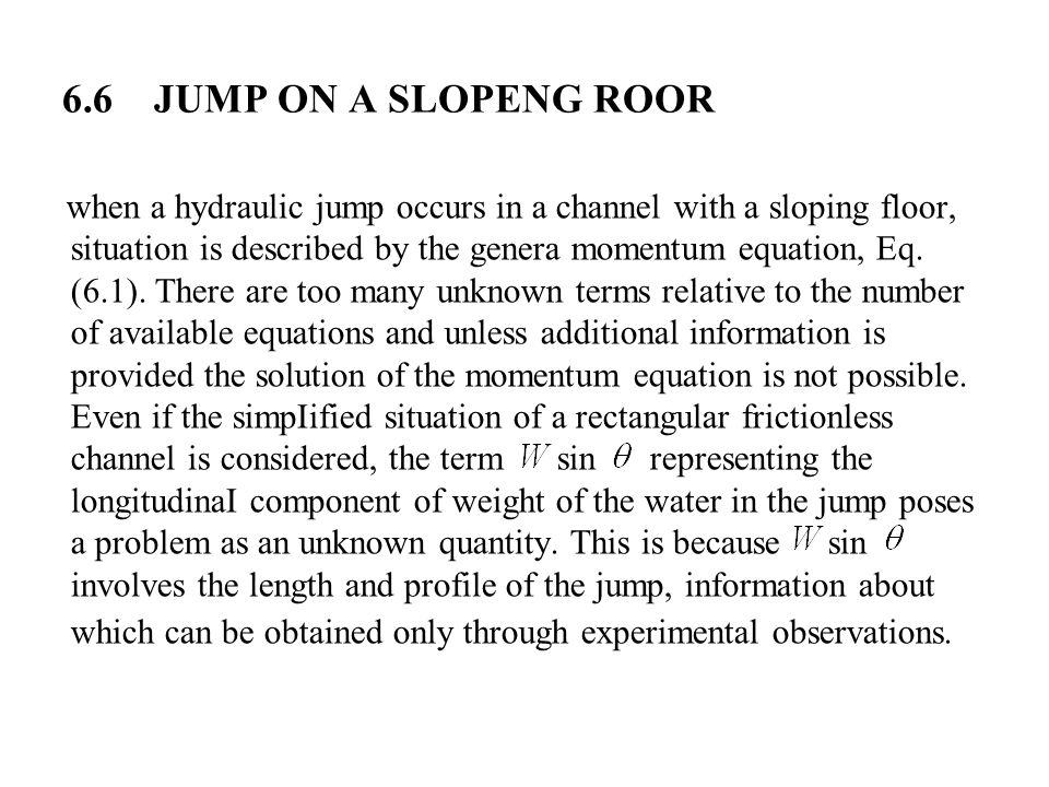 6.6 JUMP ON A SLOPENG ROOR