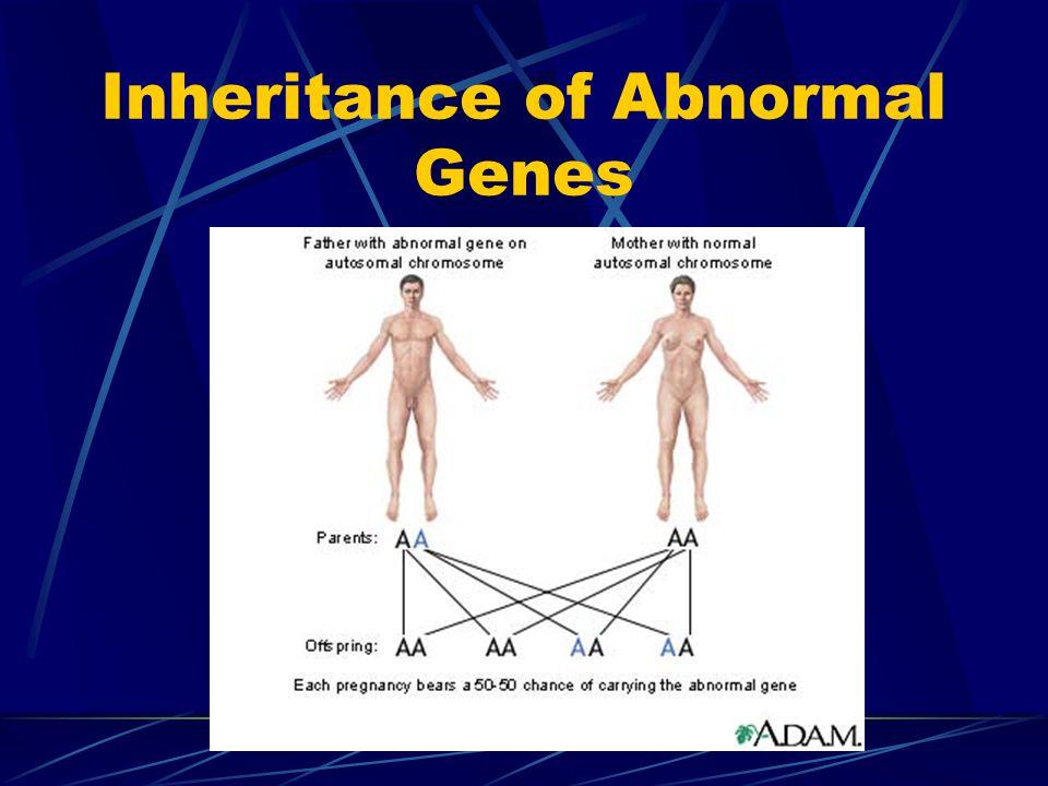 Inheritance of Abnormal Genes