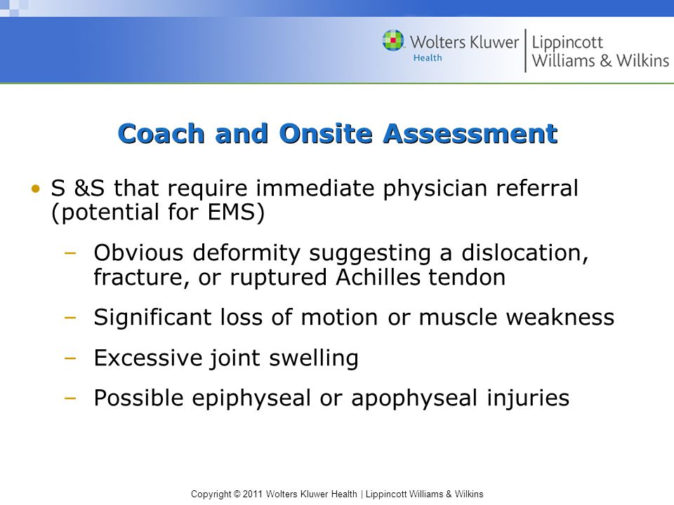 Coach and Onsite Assessment