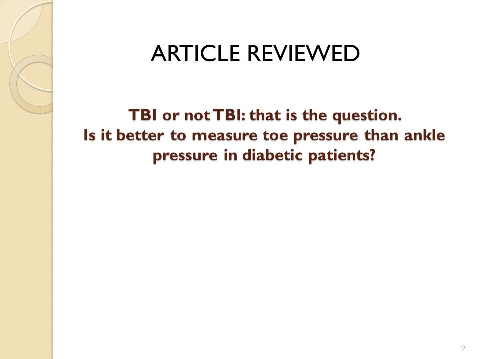 ARTICLE REVIEWED TBI or not TBI: that is the question.