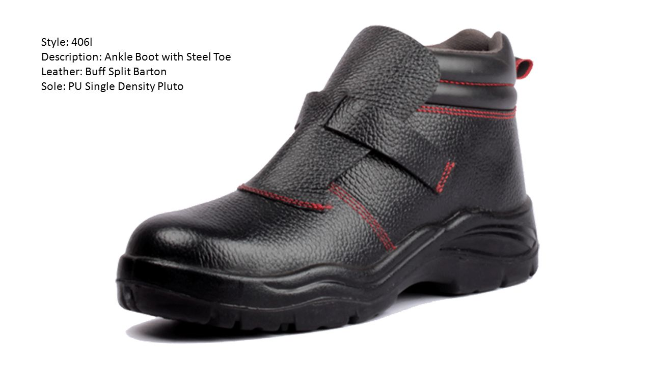 Style: 406l Description: Ankle Boot with Steel Toe.