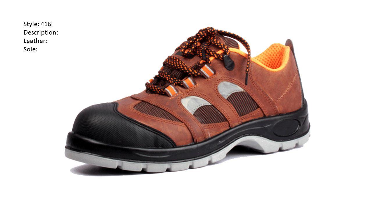 Style: 416l Description: Leather: Sole: