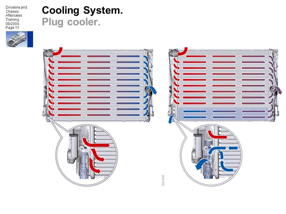 Cooling System. Plug cooler.