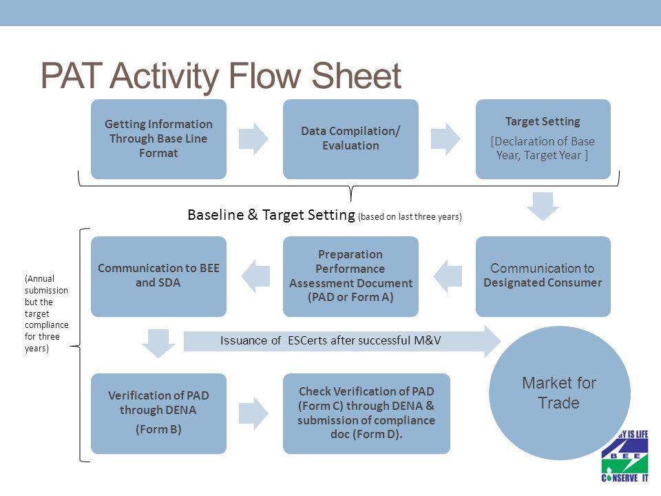 PAT Activity Flow Sheet
