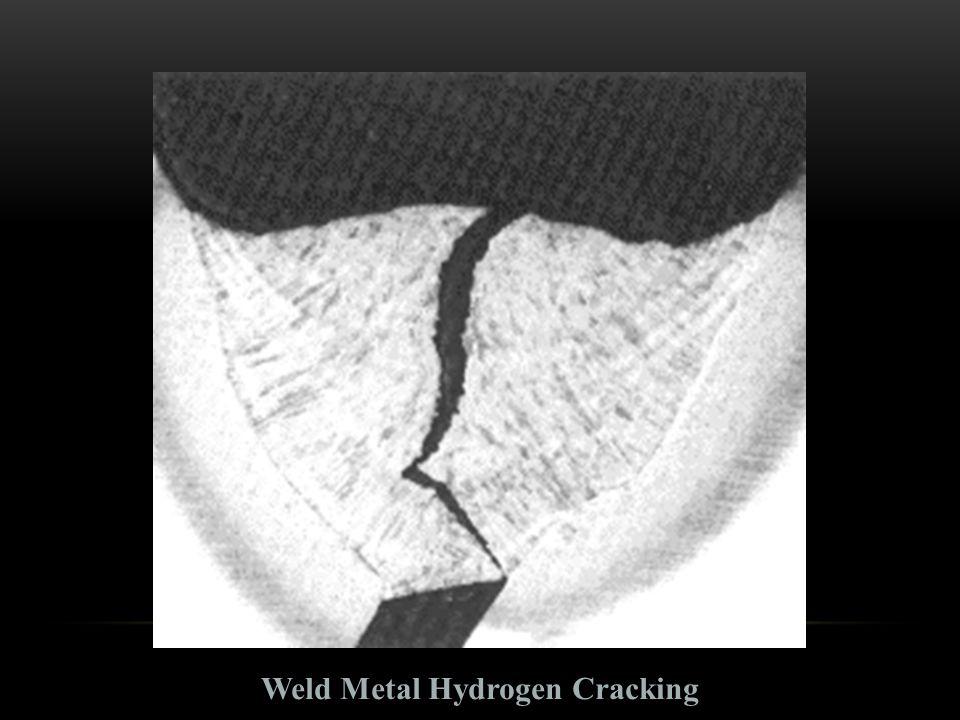 Weld Metal Hydrogen Cracking