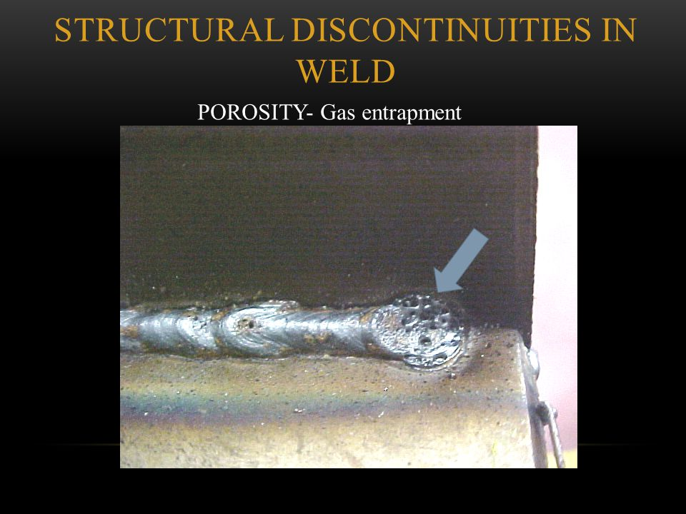 Structural Discontinuities in Weld