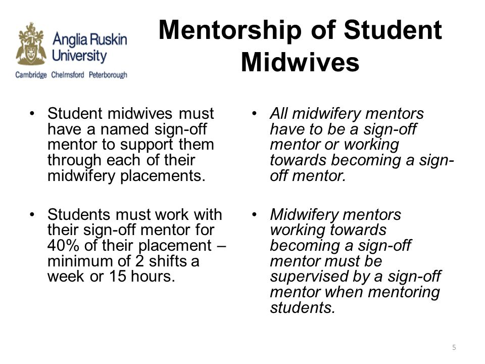 Mentorship of Student Midwives