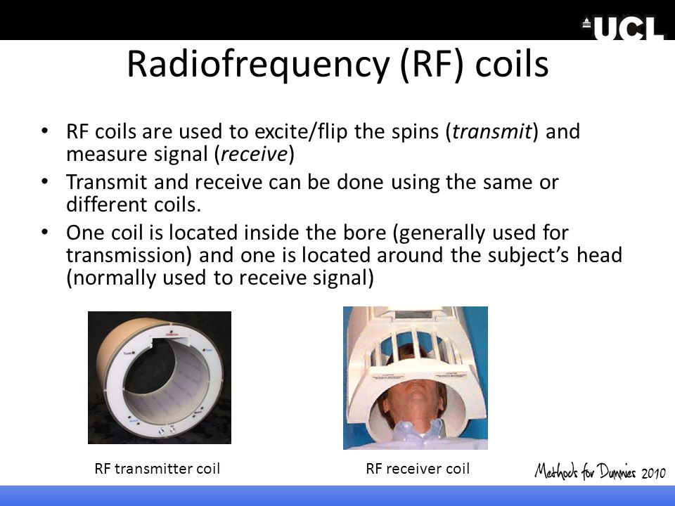 Radiofrequency (RF) coils
