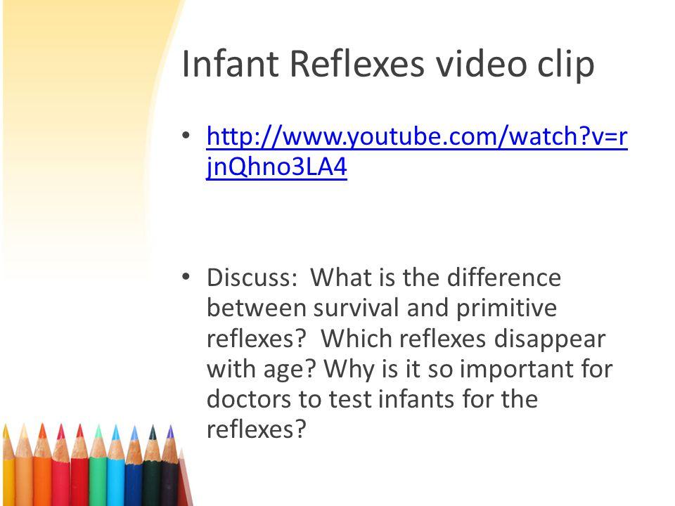 Infant Reflexes video clip
