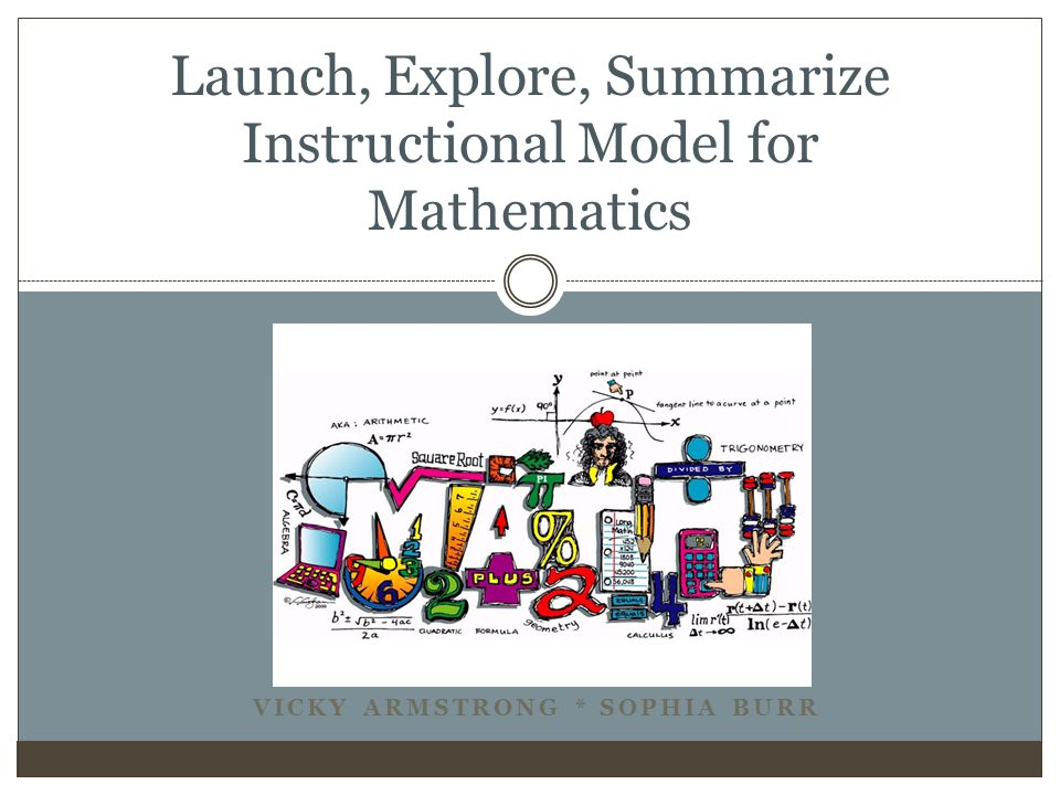 Launch, Explore, Summarize Instructional Model for Mathematics