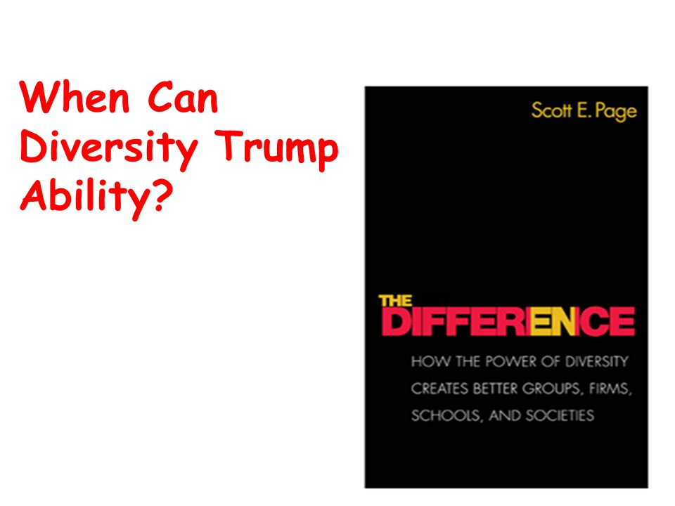 When Can Diversity Trump Ability