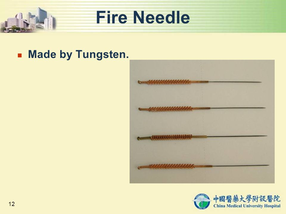 Fire Needle Made by Tungsten.