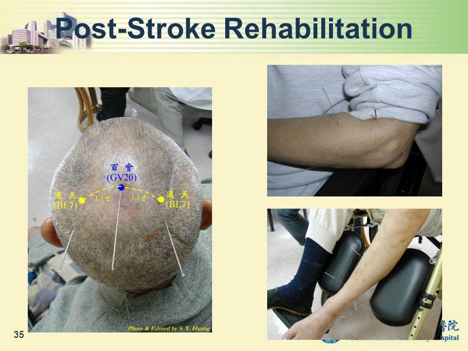 Post-Stroke Rehabilitation