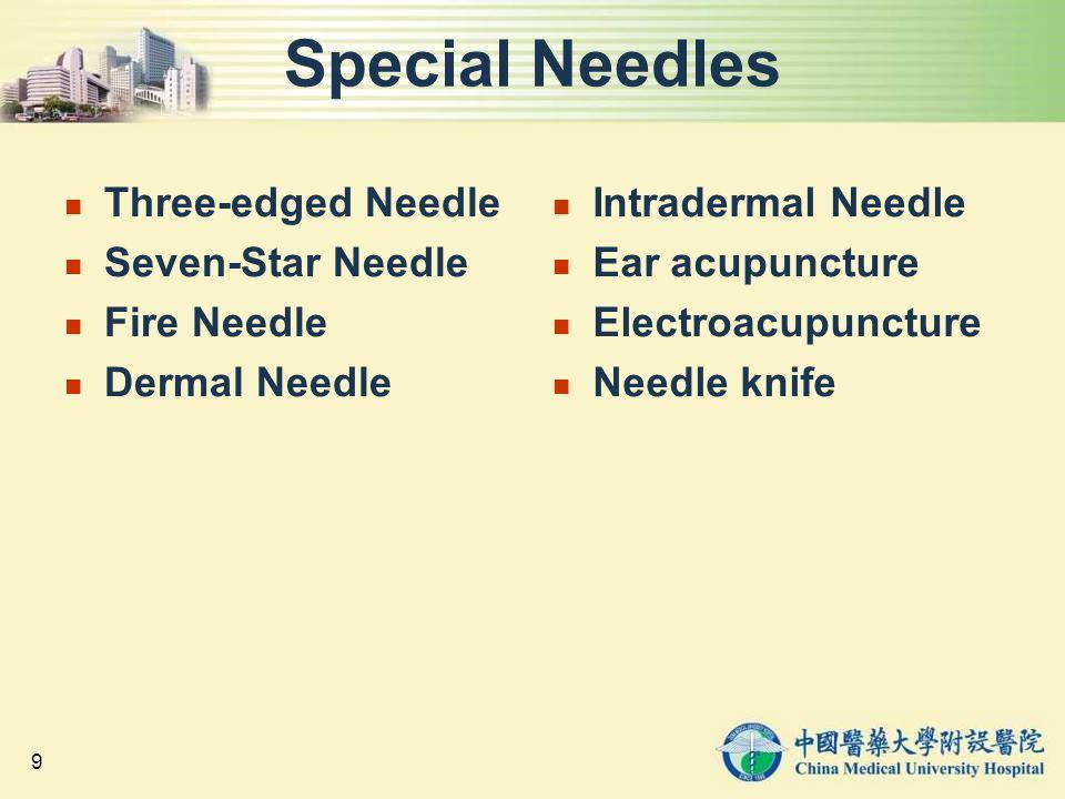Special Needles Three-edged Needle Seven-Star Needle Fire Needle