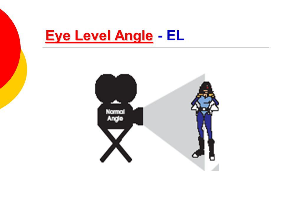 Eye Level Angle - EL