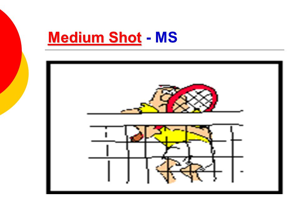 Medium Shot - MS
