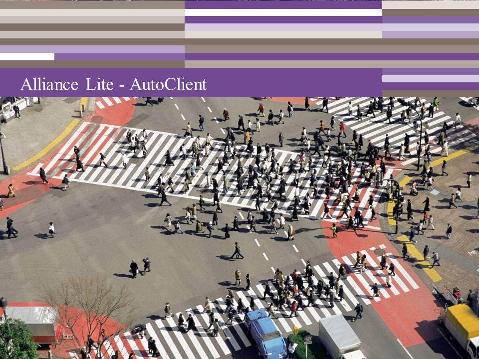 Alliance Lite - AutoClient