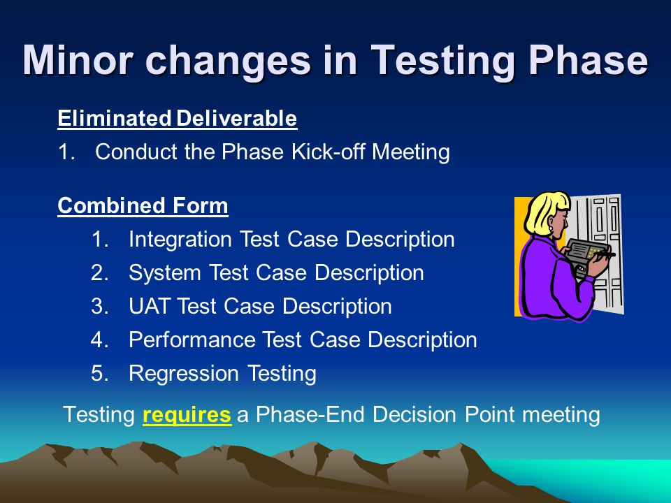 Minor changes in Testing Phase