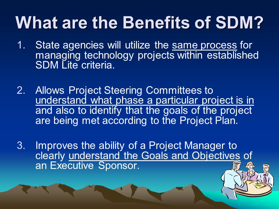 What are the Benefits of SDM