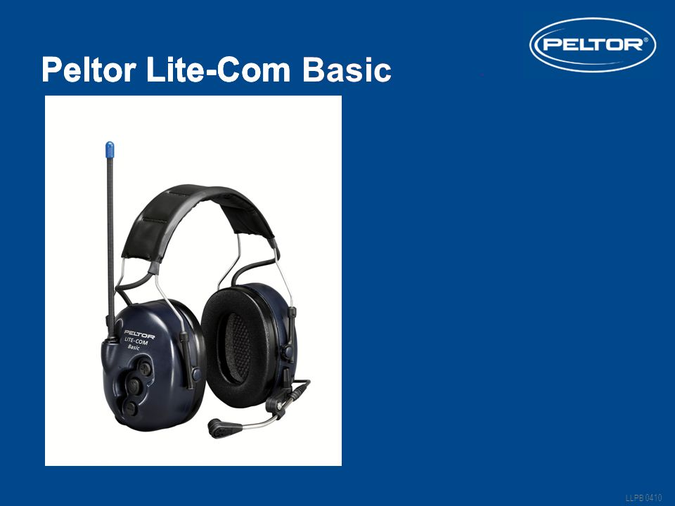 Peltor Lite-Com Basic Peltor Lite-Com Basic Peltor Lite-Com III
