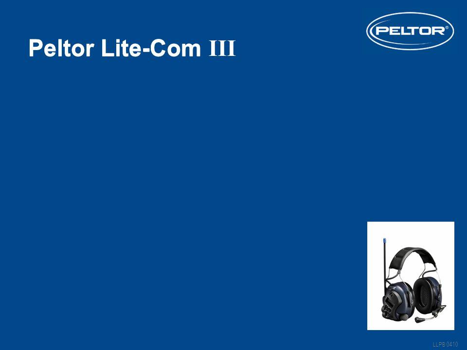 Peltor Lite-Com III Peltor Lite-Com Lite-Com III Vänta på bildspelet!