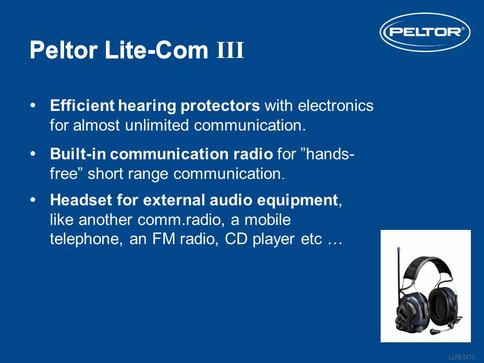 Peltor Lite-Com Peltor Lite-Com III
