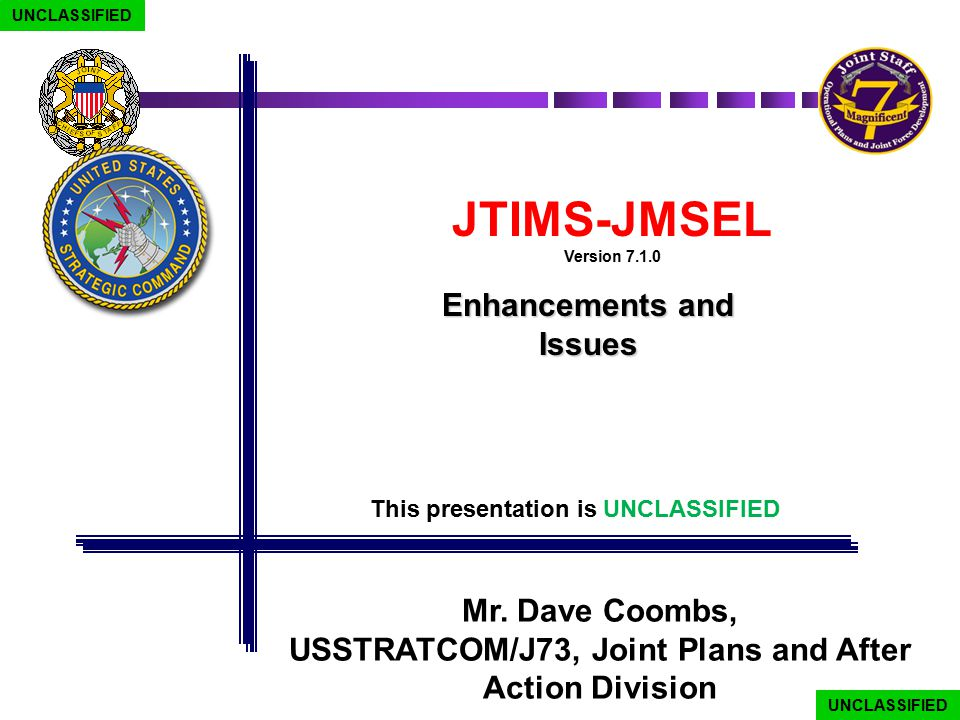 USSTRATCOM/J73, Joint Plans and After Action Division
