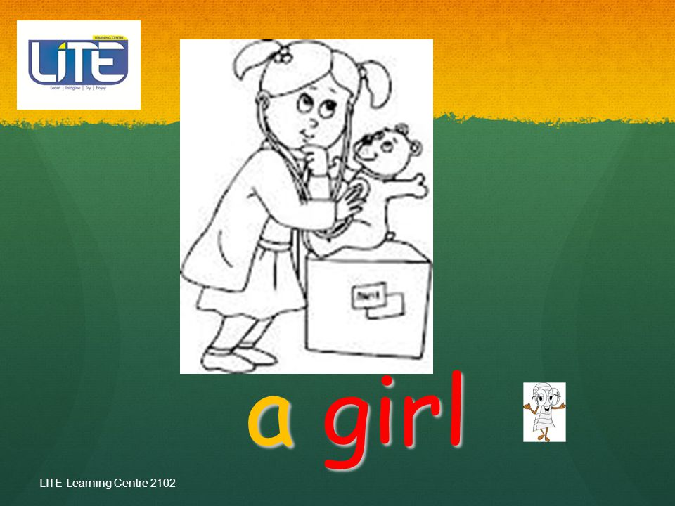 a girl LITE Learning Centre 2102