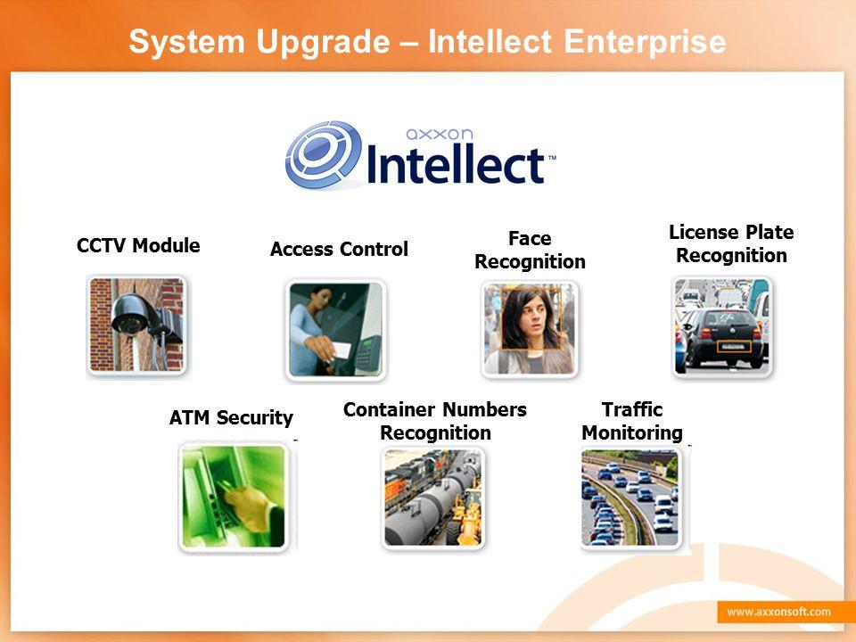 System Upgrade – Intellect Enterprise
