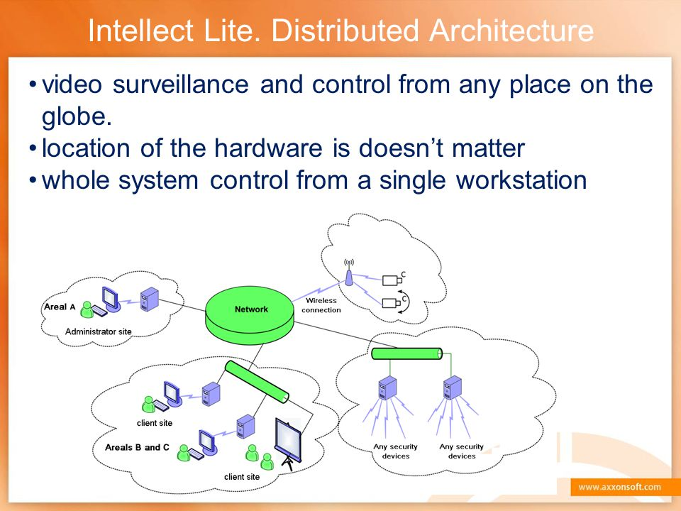 Intellect Lite. Distributed Architecture