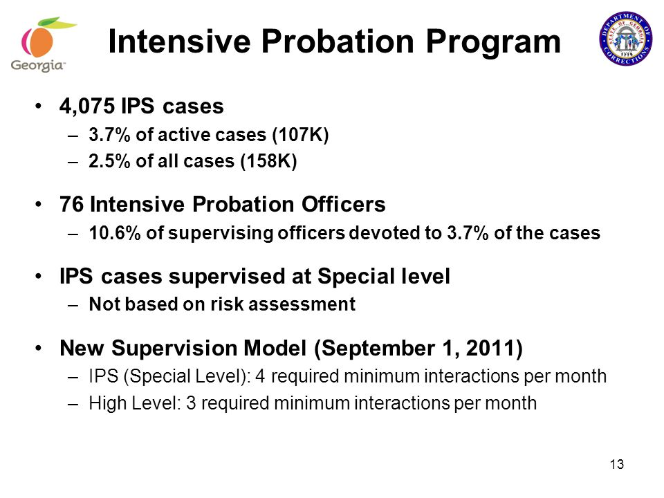 intensive probation supervision The juvenile intensive supervision program (jisp) was developed in 1994 to provide an alternative for juvenile offenders in lieu of removal from the home.