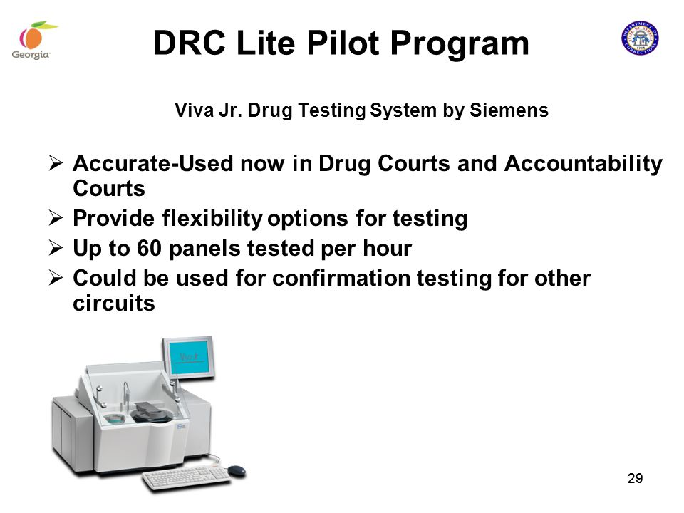 Viva Jr. Drug Testing System by Siemens