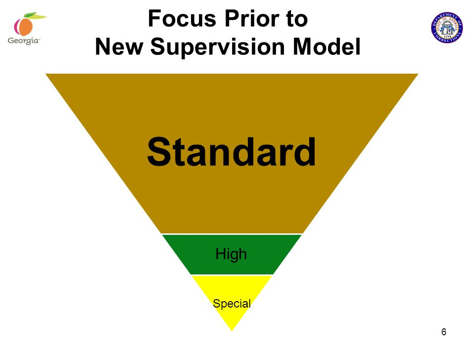 Focus Prior to New Supervision Model Standard High Special