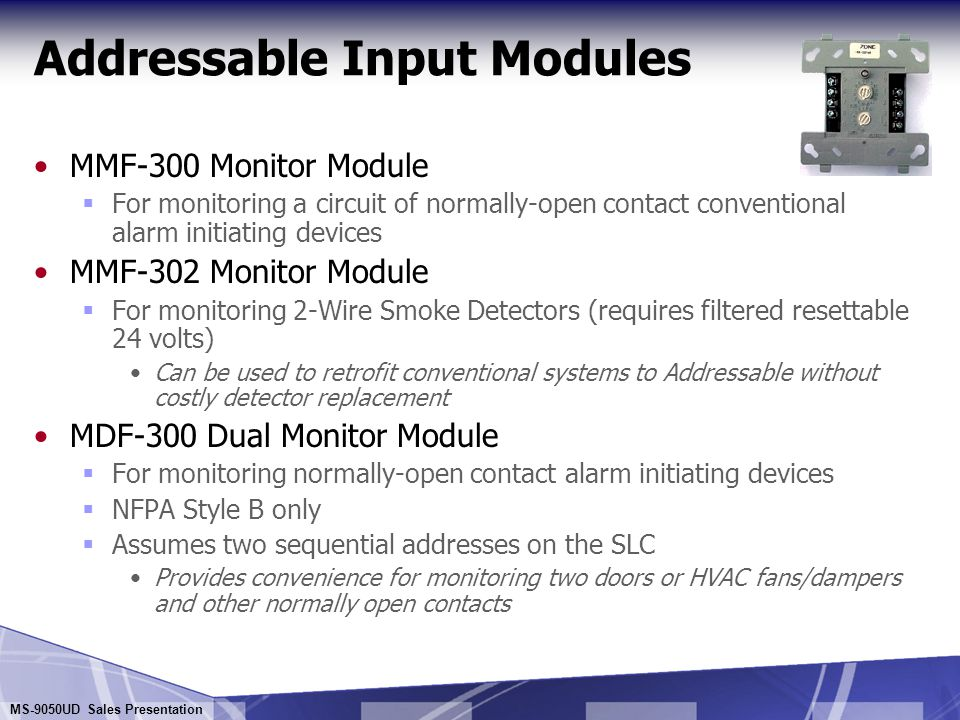 Addressable Input Modules