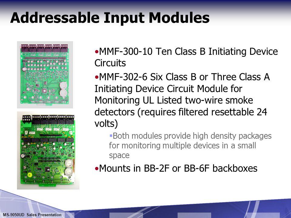 Addressable Input Modules