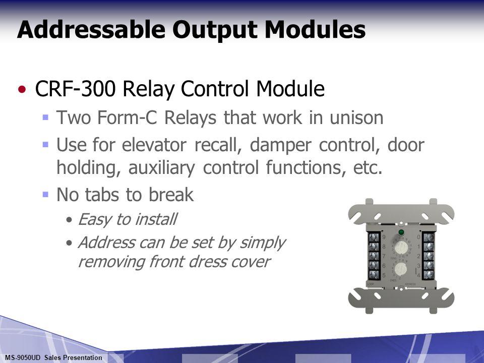Addressable Output Modules