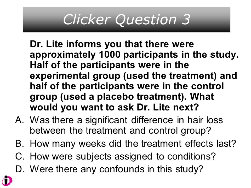Clicker Question 3