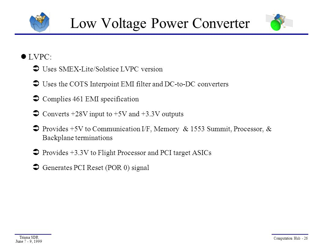 Low Voltage Power Converter