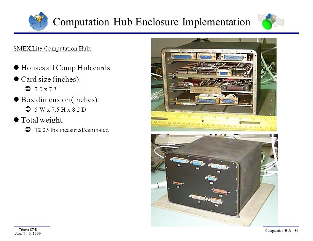 Computation Hub Enclosure Implementation
