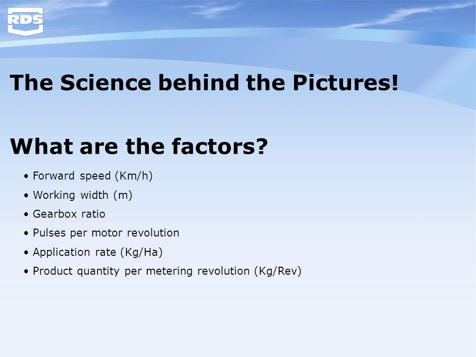 The Science behind the Pictures!