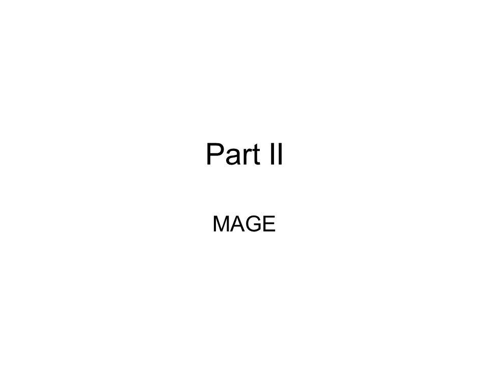 Part II MAGE