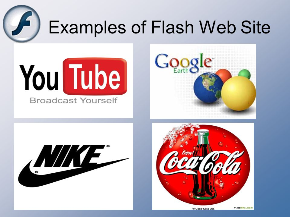 Examples of Flash Web Site