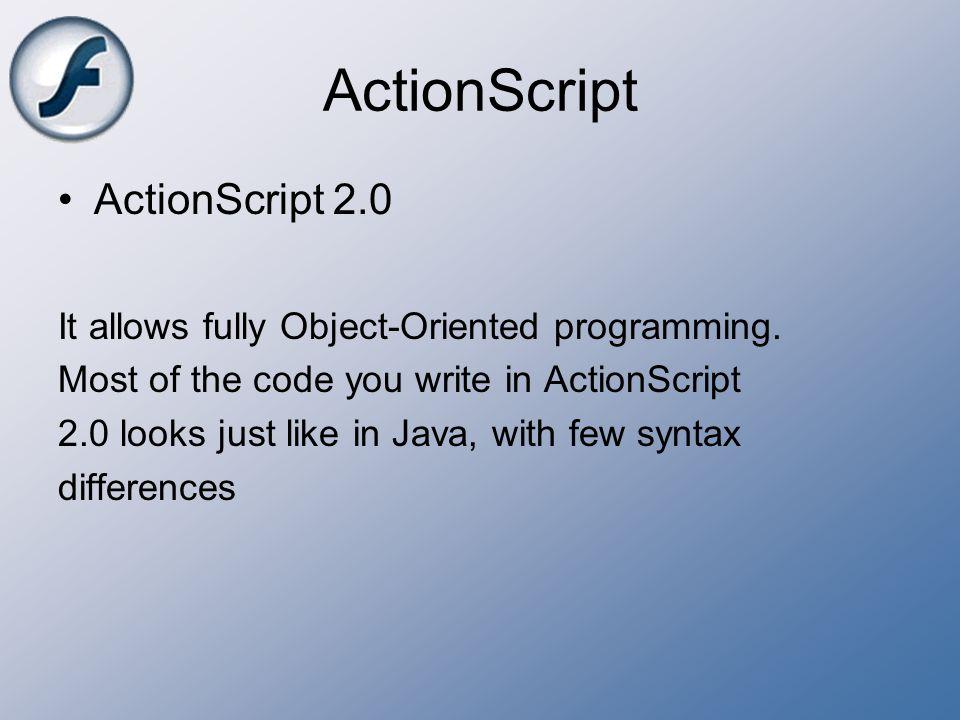 ActionScript ActionScript 2.0