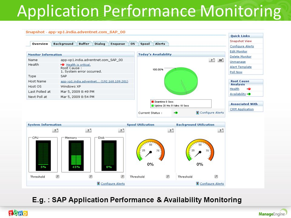 Application Performance Monitoring