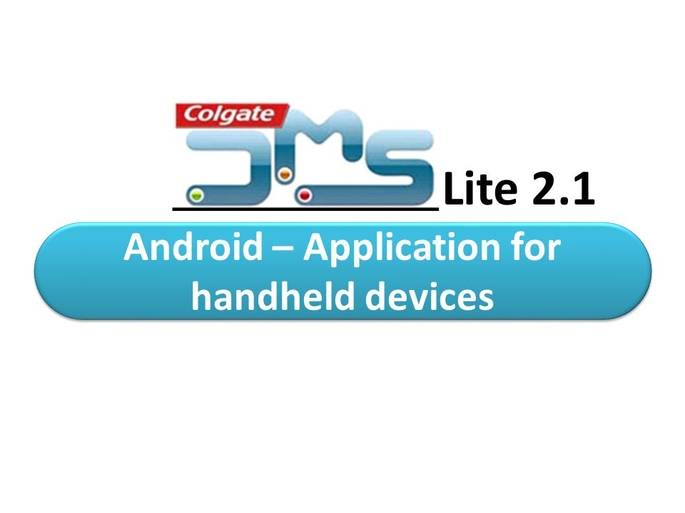 Android – Application for handheld devices